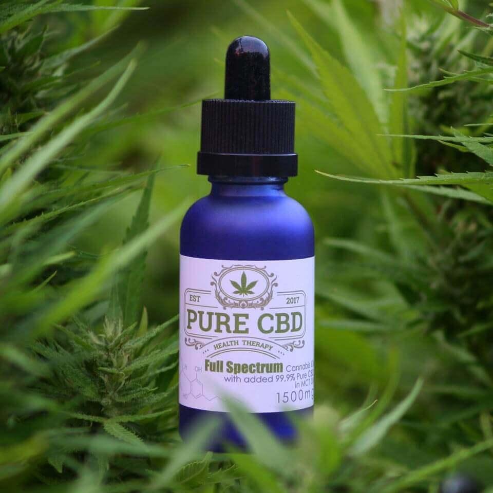 Full Spectrum CBD Oil - 1500mg - Pure CBD